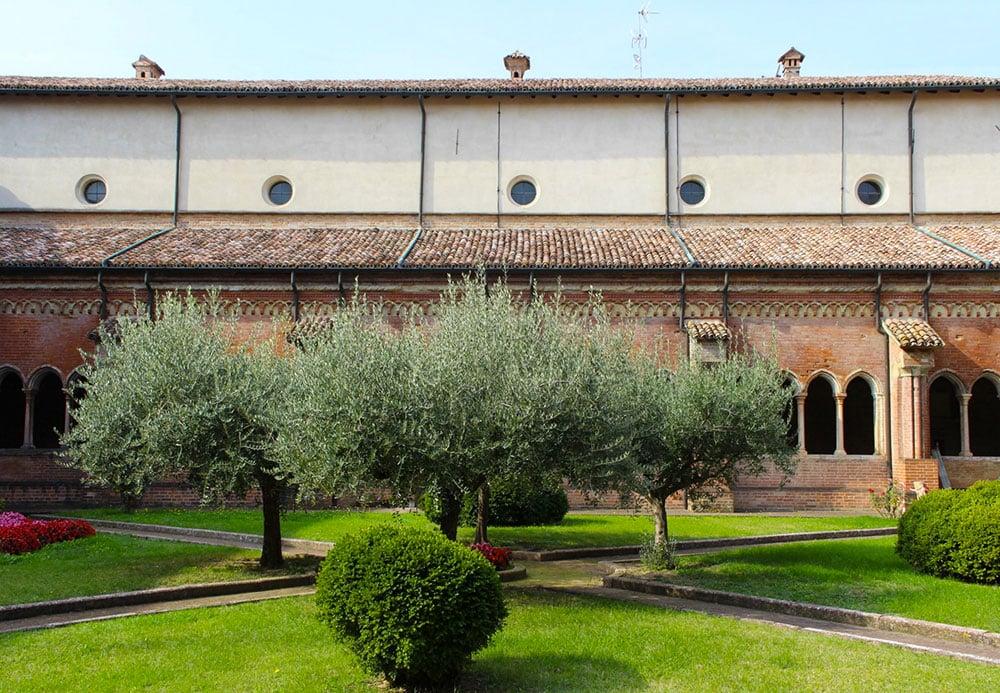 Abbazia di Chiaravalle Chiostro