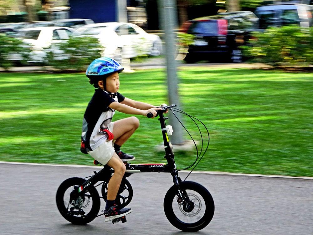Come insegnare ai bambini ad andare in bici in 7 step