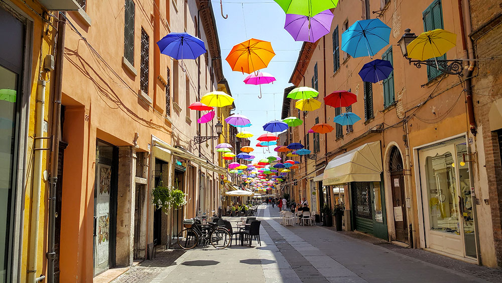 Ferrara centro storico