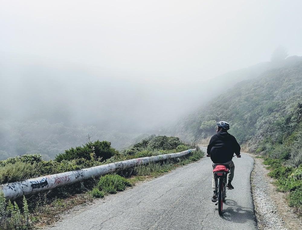 interpretare il meteo durante un viaggio bici